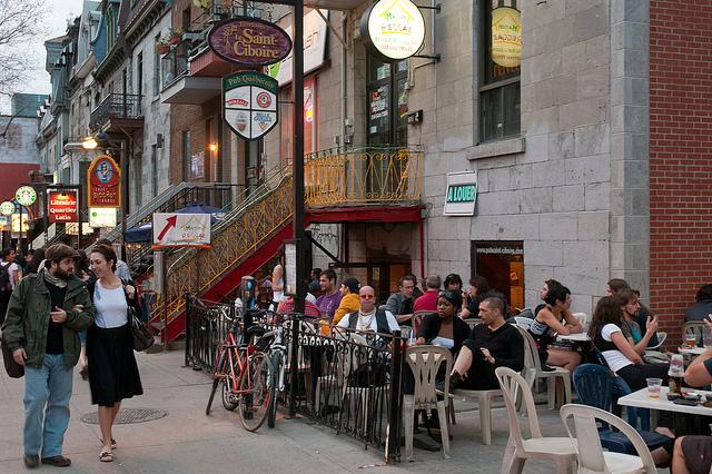 Restaurant Montreal Quartier Latin